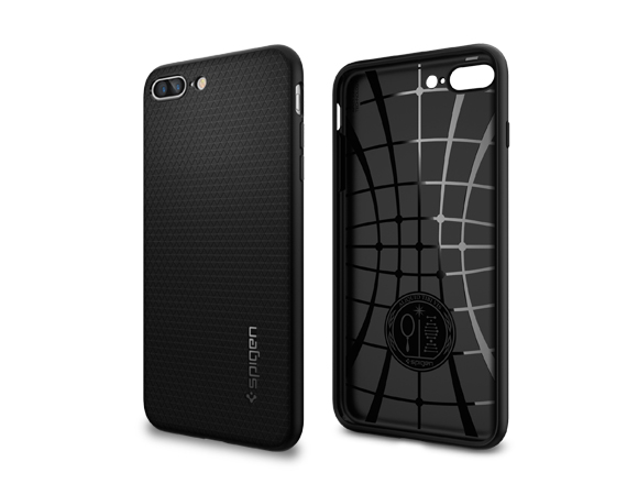 hot sale online ed719 b65e4 Buy the Spigen iPhone 8 Plus / 7 Plus Liquid Armor Case Black,Thin and... (  043CS20525 ) online